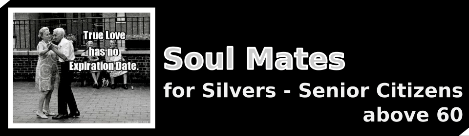 Banner of Soul Mates for Silvers - Senior Citizens above 60