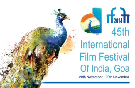 45th International Film Festival of India (IFFI) - 2014 Logo