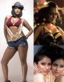 Mumaith Khan, Meghna Naidu & Neha of LOVELY KUDI - POP ALBUM
